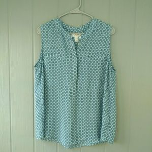 Joe Fresh sleeveless blouse